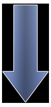 Arrown Down Blue